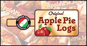 Apple Pie Logs