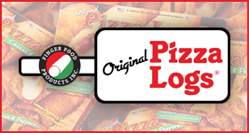 Original Pizza Logs logo